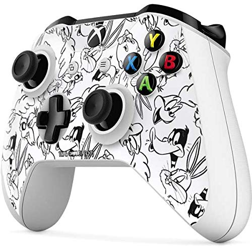 Amazon Com Skinit Looney Squad Black And White Grid Xbox One S