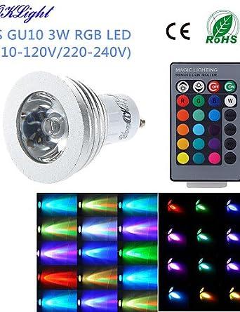 HJLHYL MNDFocos Control Remoto / Decorativa YouOKLight G50 E14 / GU10 3 W 1 LED de