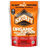 SKOUT BACKCOUNTRY Organic Roasted Pumpkin Seeds – Spicy Texas Chili – Pepitas With No Shell – Vegan, Low Carb Snacks – Paleo & Keto Foods – Gluten Free -Non-GMO- Kosher- Grown in USA- 2.2 oz (6 Count) Review