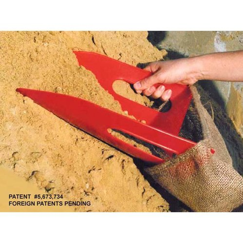 Angel Guard Product EZ Bagger Sandbag Filler - Red