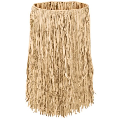 Islander Hula Grass Skirt Natural Adult