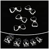 wholesale 100pcs Black Bow tie 3D Alloy Nail Art / DIY Nail decoration by CoCo-Shop