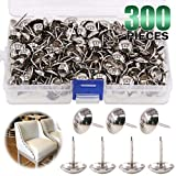 "Keadic 300Pcs 9/16"" (14mm) Antique Upholstery Tacks"