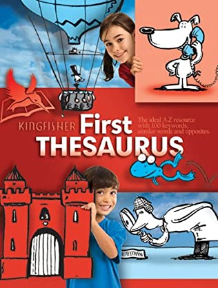 book cover of The Kingfisher First Thesaurus