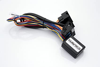 NAViKS Video in Motion Bypass Compatible with 2010-2013 Mercedes Benz  E-Class (C207) (W212) Vim DVD TV Free NVIM