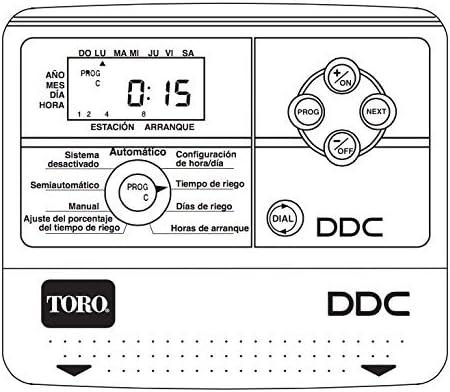 Toro Programmateur darrosage Tempus 4 stations Int/érieur 220 V