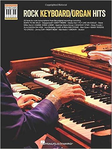 Rock keyboard/organ hits clavier: Note-For-Note Keyboard ...