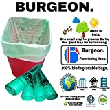 Garbage bags biodegradable premium medium size garbage bag with 120 days worth of stock, Strong and sturdy built. (Trash bag / Dustbin bag). 100% biodegradable tested garbage bags.
