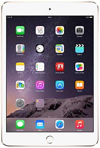 New - iPad Mini (3rd Gen) 128GB Gold Wi Fi Image