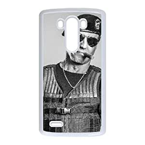 LG G3 Cell Phone Case White Expendables W9E7P