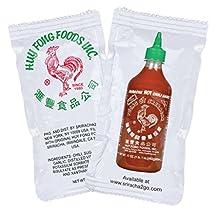Huy Fong Sriracha Hot Chili Sauce Packets (50-Pack)