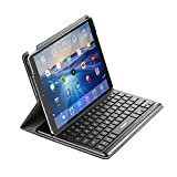 Keyboard Case Smart Keyboard with Smart Connector Slim Shell Protective Case Compatible with IPad pro 10.5,Backlit and Built-in Holder (Black)