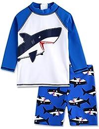 Vaenait baby 2T-7T Infant Boys Rashguard swimsuit Set Marine Pirate