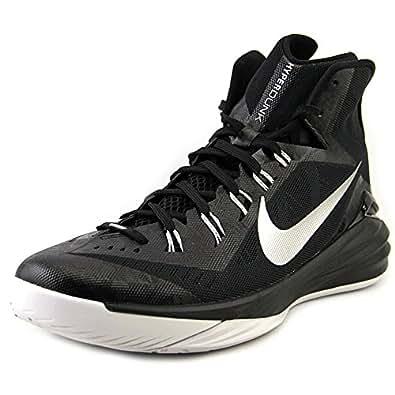Men's Nike Hyperdunk 2014 TB Basketball Shoe Black/White/Metallic Silver Size 11.5 M US