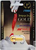 Impactra Gold 100% All Natural Male Sexual Performance Enhancement (pack of 2)