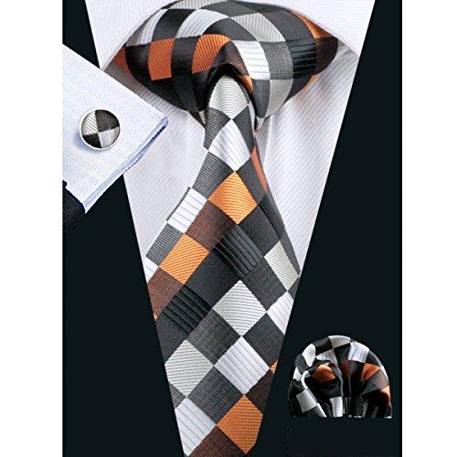 hi-tie-woven-silk-plaid-check-tie-set-for-men