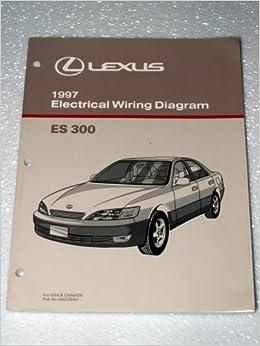1997 lexus es300 electrical wiring diagrams: toyota motor corporation:  amazon com: books