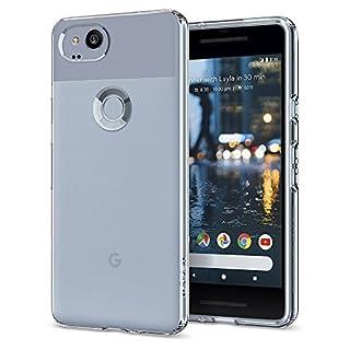 Spigen Liquid Crystal Designed for Google Pixel 2 Case (2017) - Crystal Clear