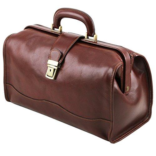 Piel Rojo Leather En Bolso De Doctor Raffaello 4 Negro Tl10077 Tuscany xA7Z6qYaq