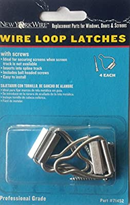 Wire Loop Latches