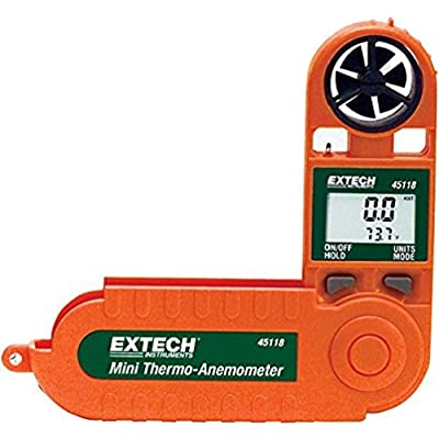 Image of Extech 45118 Mini Waterproof Thermo Anemometer Home Improvements