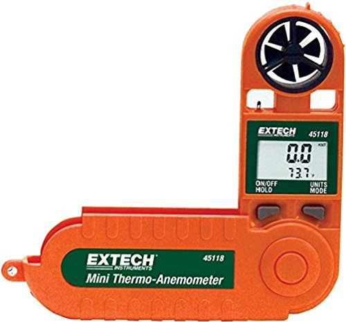 Extech 45118 Mini Waterproof Thermo Anemometer ()