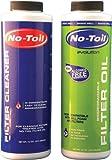 No-Toil Evo Filter Oil & Cleaner (2pk) for Motorcycles EV104