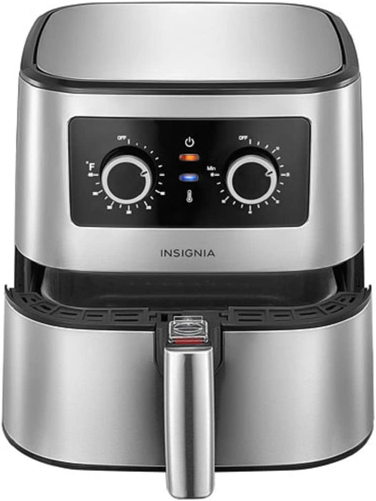 Insignia 5qt Analog Air Fryer Stainless