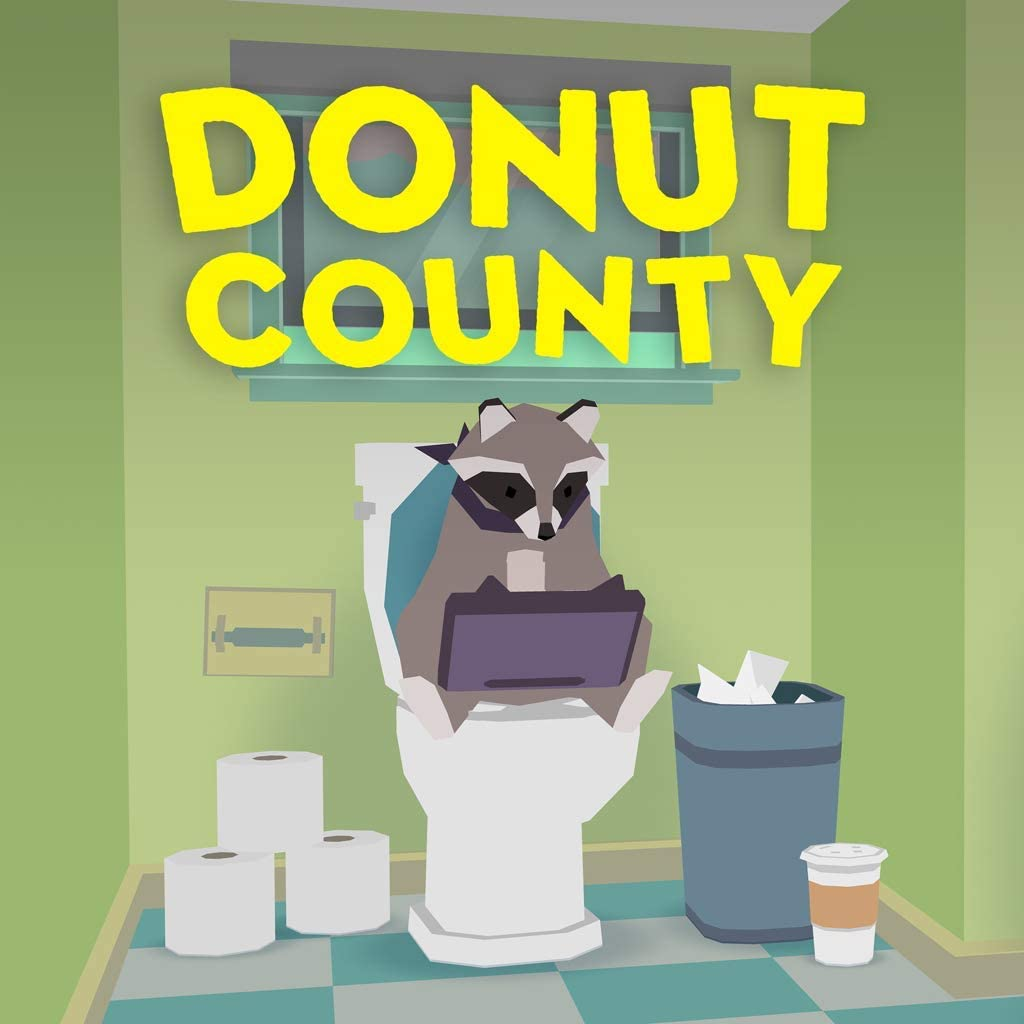 Donut County - PS4 [Digital Code] ANNAPURNA GAMES