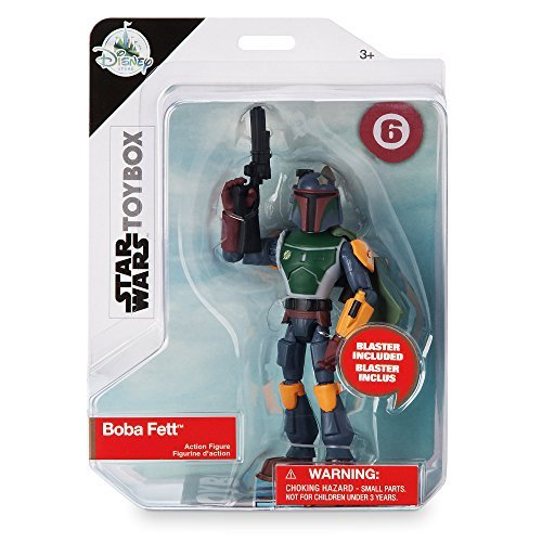 Star Wars USA Disney Store limited toy box action figure Boba Fett / STAR WARS 2018 USA Disney Store EXCLUSIVE TOYBOX # 6 BOBA FETT [parallel import goods] latest movie