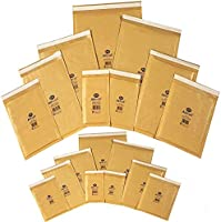 200 JIFFY Bags JL7 Padded Envelopes 340 x 445 Gold K//7