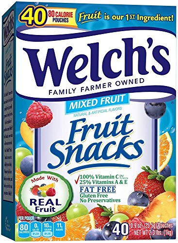 WELCH'S Ultimate Combo Pack Fruit Snacks,0.5 Ounce, (Mixed Fruit, 200-Count) by Welch's (Image #1)