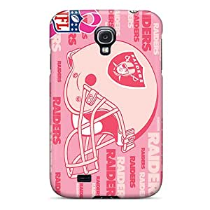 Premium Oakland Raiders Back Cover Snap On Case For Galaxy S4