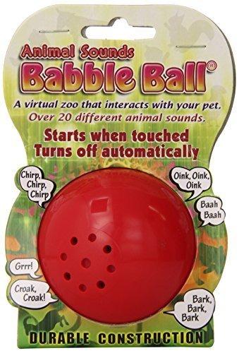 Pet Qwerks Medium Animal Babble Ball by Pet Qwerks ()