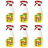 Fabriclear Bed Bug Spray, 24 Ounce Spray (6 pack)