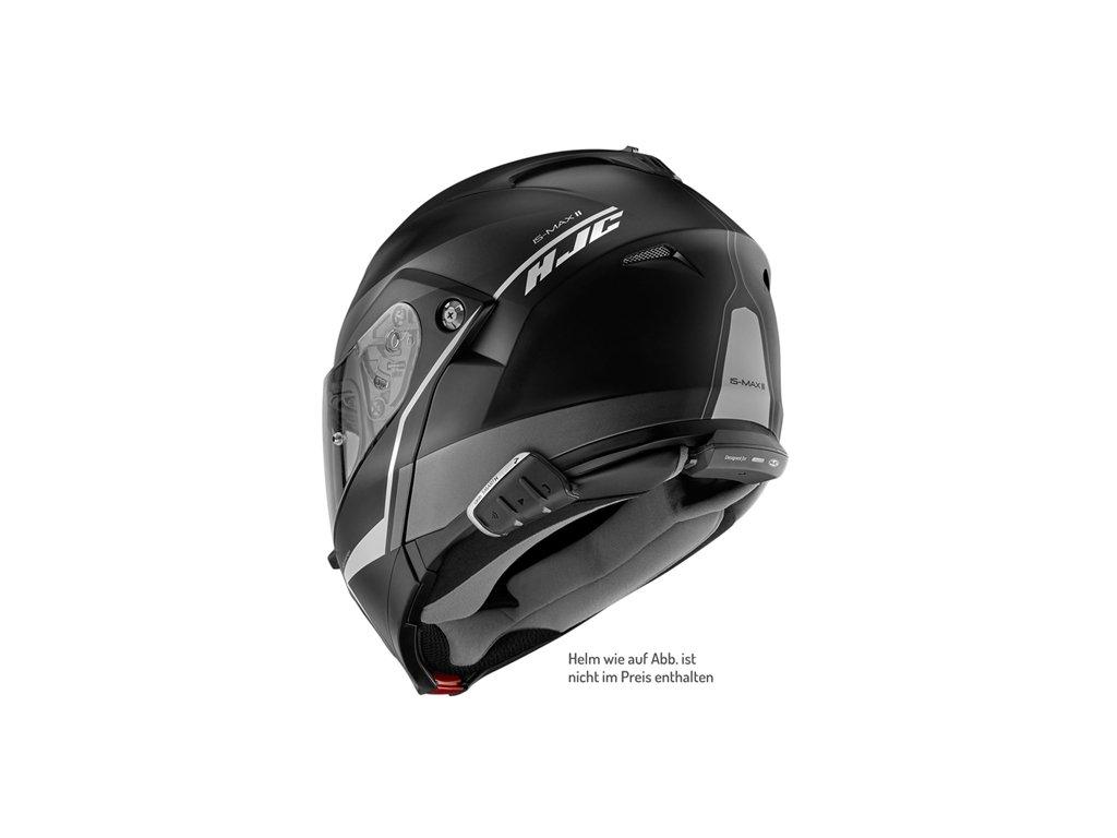 Cardo Scala Rider Smarth DMC Interphone pour Quatre 5km Moto Bluetooth Casque pour HJC Casques