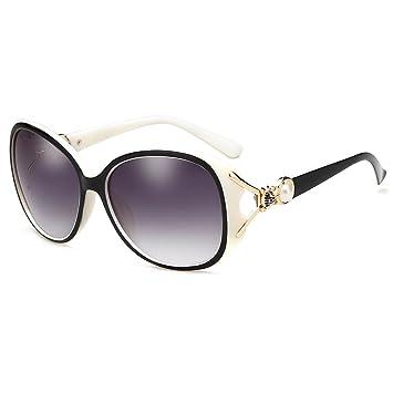 ZHIRONG Mode Polarisierte Damen Sonnenbrillen, Sonnenschutz, UV-Schutz, Tourismus Fahrbrille ( Farbe : A )