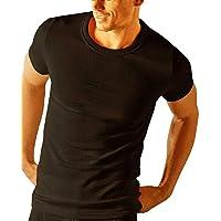 Socks Uwear® Mens Thermal Short Sleeve T Shirt Vest Underwear