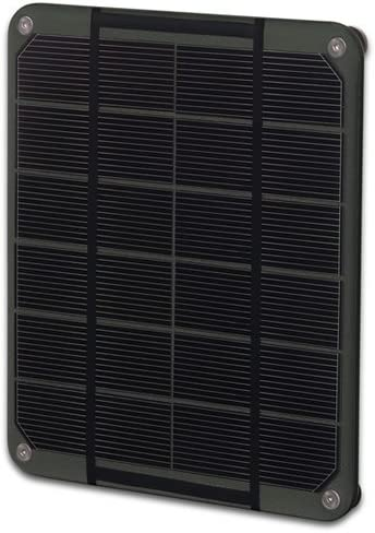 Voltaic Systems – Mini Solar Panel 2W 6V – Charcoal Panel Made with High Performance Monocrystalline Cells Waterproof, UV and Scratch-Resistant