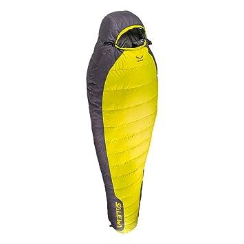 SALEWA Flare-25 SB Saco de Dormir, Unisex Adulto, Amarillo, Derecho: Amazon.es: Deportes y aire libre
