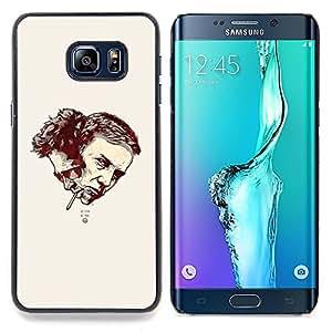 Raymond & Tyler Fight Caja protectora de pl??stico duro Dise?¡Àado King Case For Samsung Galaxy S6 Edge Plus