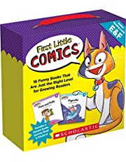 First Little Comics: Levels E & F (Parent Pack): 16 Funny Books That Are Just the Right Level for Growing Readers