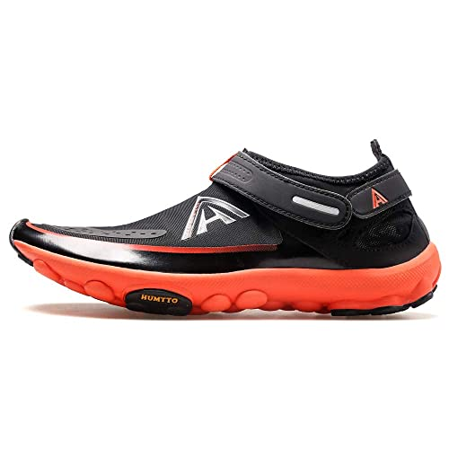 97e0fe700adf HUMTTO Unisex Athletic Water Shoes Man and Women Swim Walking Lake Beach  Boating Shoes (Women