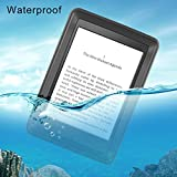 Waterproof Case for E-reader Paperwhite, Meritcase IP 68 Water Resistant Dustproof Snowproof Dropproof Full Sealed Rugged Case with Sensitive Touch Screen for 6 Kindle Paperwhite (1/2/3)