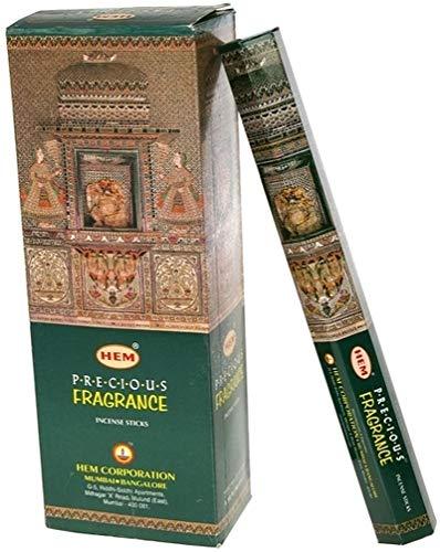 Hem Stick Incense - Hem Precious Musk Fragrance Incense Sticks, 120 Count