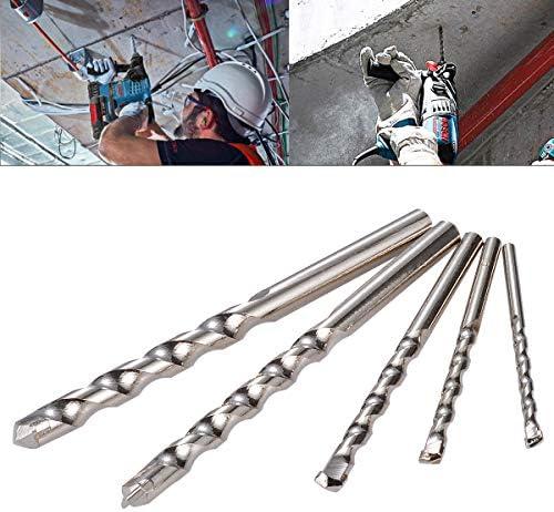 HOHXEN HSS Bohrer Sets gerade Shank Twist-Bohrer Bit Werkzeug 4–10mm für Holz