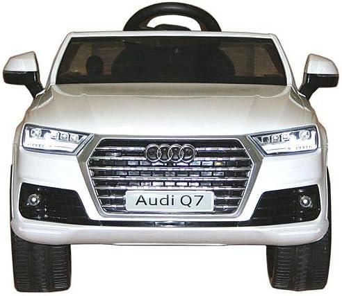 Elektroauto Audi Q7 Kinderfahrzeug Kinderauto 12V Fernbedienung MP3 Beleuchtung