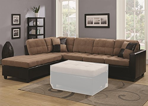 1Perfectchoice Mallory Reversible Sectional Microfiber Basic Info