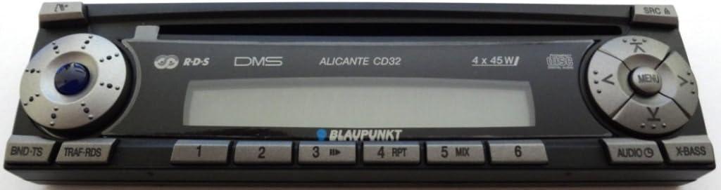 BLAUPUNKT Radio ALICANTE CD32 pieza de reemplazo del teclado 8636595065 Recambio