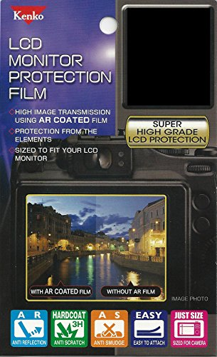Kenko LCD Screen Protector for Canon EOS 70D - Clear - LCD-C-70D